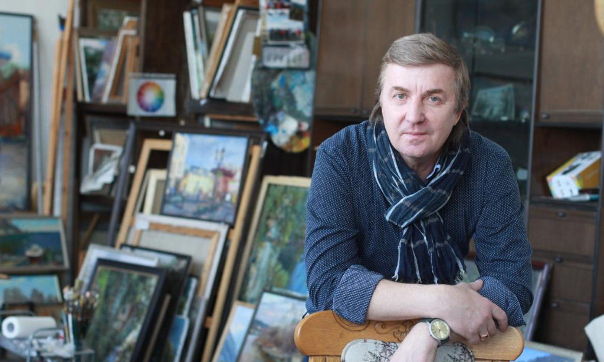 Художник Василий Кукса